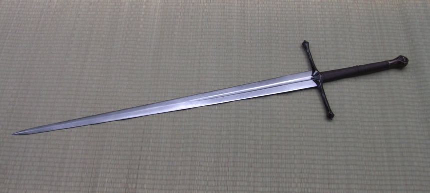 Bronze By Jeffrey J Robinson Delectable Pattern Welded Sword